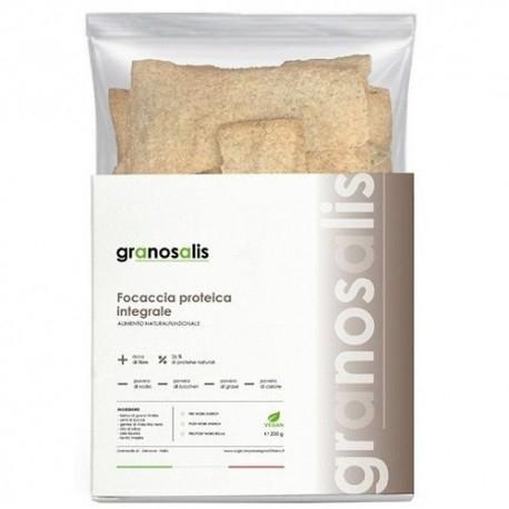 Pane e Prodotti da Forno Granosalis, Focaccia Proteica Integrale, 200 g
