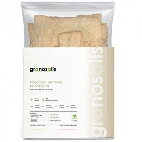 Pane e Prodotti da Forno Granosalis, Focaccia Proteica Avena, 200 g