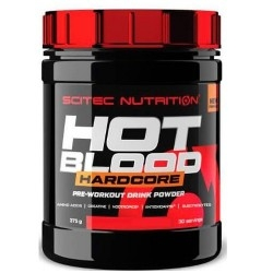 Pre Workout Scitec Nutrition, Hot Blood Hardcore, 375 g