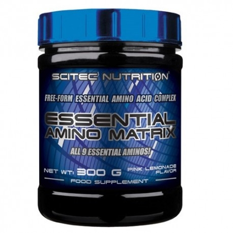 Aminoacidi essenziali Scitec Nutrition, Essential Amino Matrix, 300 g.