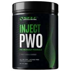 Pre Workout Self Omninutrition, Inject PWO con Caffeina, 400 g