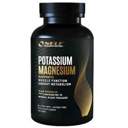 Potassio Self Omninutrition, Potassium Magnesium, 120 cps