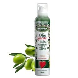 Olio Fratelli Mantova, Spray Leggero Olio extra vergine d'oliva, 250 ml