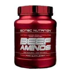 Pool di Aminoacidi Scitec Nutrition, Beef Aminos, 500tav.
