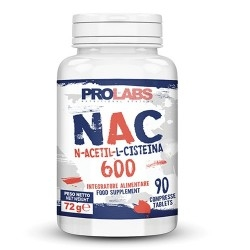 Acetilcisteina Prolabs, Nac 600, 90 cpr