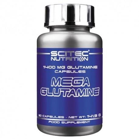 Glutammina Scitec Nutrition, Mega Glutammina, 90cps.