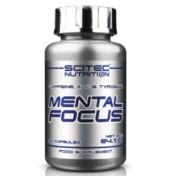 Tonici - Energizzanti Scitec Nutrition, Mental Focus, 90cps.