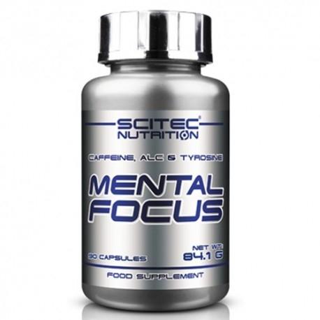 Scitec Nutrition, Mental Focus, 90cps.