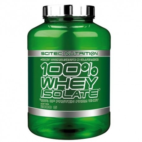 Proteine del Siero del Latte (whey) Scitec Nutrition, 100% Whey Isolate, 2000g.