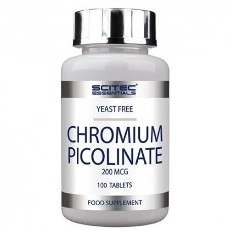 Cromo Scitec Nutrition, Chromium Picolinate, 100cpr.