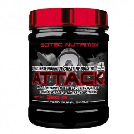 Scitec Nutrition, Attack 2.0, 320g.