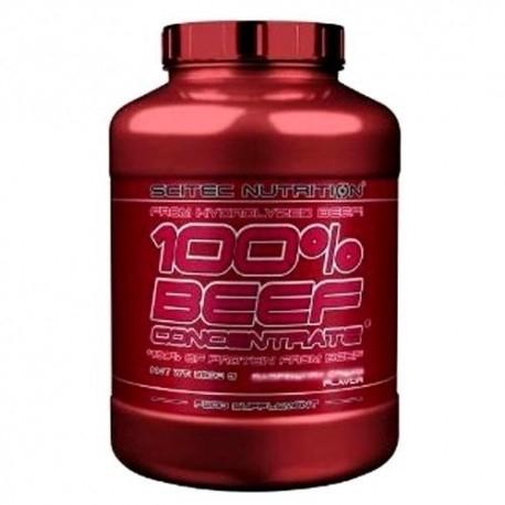 Proteine della carne Scitec Nutrition, 100% Beef Concentrate, 2000g