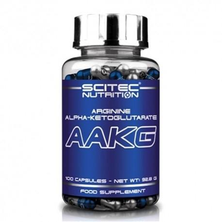Arginina Scitec Nutrition, AAKG, 100cps
