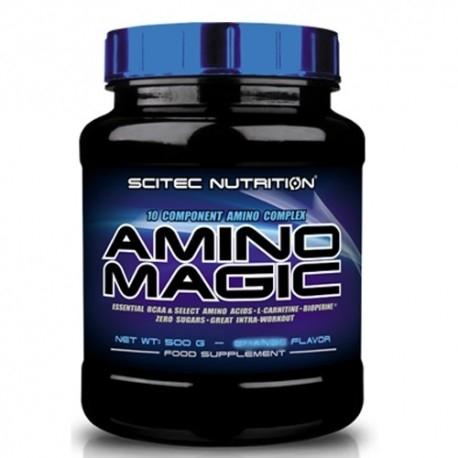 Pool di Aminoacidi Scitec Nutrition, Amino Magic, 500g.