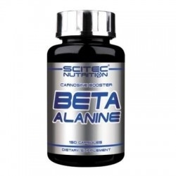 Beta alanina Scitec Nutrition, Beta Alanine, 150 cps.