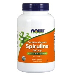 Spirulina Now Foods, Spirulina, 200 cpr.