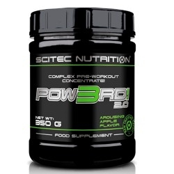 Pre Workout Scitec Nutrition, Pow3Rd 2.0, 350 g.