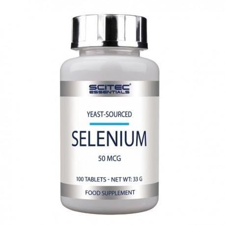 Selenio Scitec Nutrition, Selenium, 100cpr.