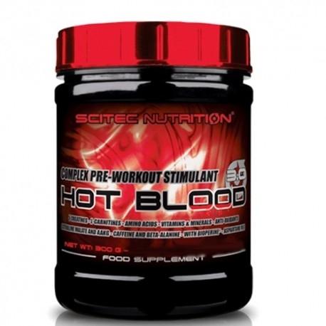 Pre Workout Scitec Nutrition, Hot Blood, 300gr.
