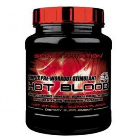 Pre Workout Scitec Nutrition, Hot Blood, 820g.