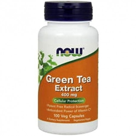 Tè verde Now Foods, Green Tea Extract, 100 cps.