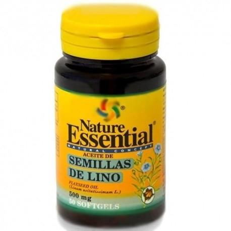 Nature Essential, Olio di semi di lino, 50cps.