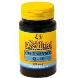 Coenzima Q10 Nature Essential, Co Enzyme Q-10, 30 cps