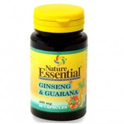 Coadiuvanti diete dimagranti Nature Essential, Ginseng e Guarana, 50 cps.