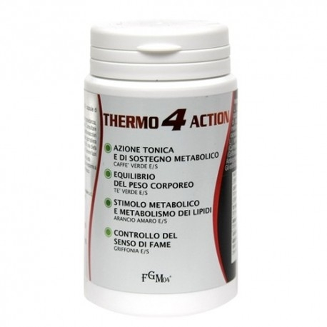 Coadiuvanti diete dimagranti FGM04, Thermo 4 Action, 90cps.