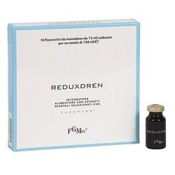 Coadiuvanti diete dimagranti FGM04, Reduxdren, 10 flaconcini da 15ml.