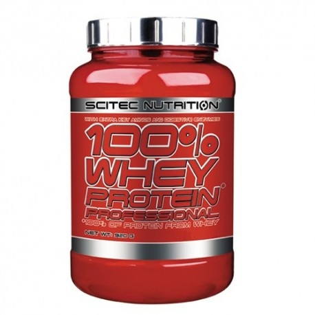 Proteine del Siero del Latte (whey) Scitec Nutrition, 100% Whey Protein Professional, 920g.