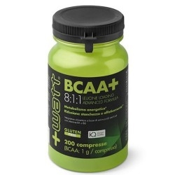 Aminoacidi Ramificati (Bcaa) +Watt, BCAA+ 8:1:1, 200cpr.